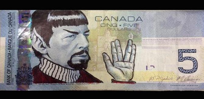 """El insólito pedido del Banco Central de Canadá a los fans de Star Trek: dejen de """"spockear"""""""