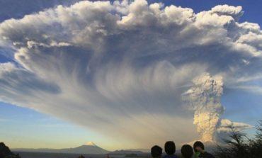 El volcán Calbuco puso en alerta a Bariloche