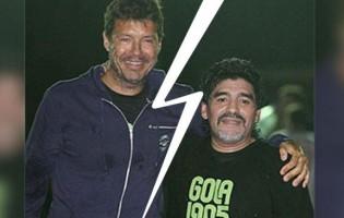 Maradona, Tinelli y un nuevo round en una pelea que parece no tener fin