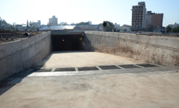 """""""Los túneles descongestionarán el tránsito del microcentro"""", puntualizó Alperovich"""