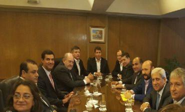 Los gobernadores del PJ se reunieron antes del encuentro con Frigerio