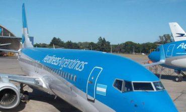 Aerolíneas Argentinas canceló vuelos a Brasilia y Río Gallegos
