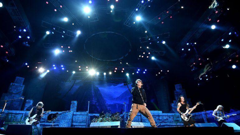Iron Maiden presentaron «The Book of Souls» en Argentina