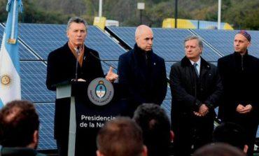 """Macri lanzó un plan de energías renovables: """"heredamos una Argentina en crisis"""""""