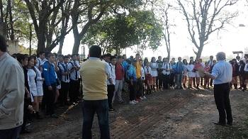Alumnos de Escuelas de la provincia conocen el deporte del Turf y el cuidado de los caballos