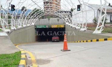 El Diario de Tucuman   Después de la tormenta, el túnel quedó con filtraciones