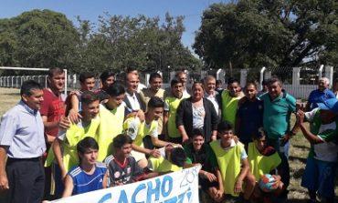 Cortalezzi y Manzur inauguraron un espacio deportivo y de salud en San Miguel de Tucuman