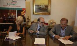 Firma de convenio entre la Caja Popular y la Universidad San Pablo-T