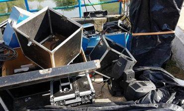 No se salvo ni Cristo | Robaron los equipos de sonido de La Pasión del parque 9 de Julio