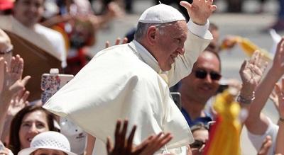 """Acuerdo de París: el Papa pide no olvidar que el medio ambiente es """"responsabilidad de todos"""""""