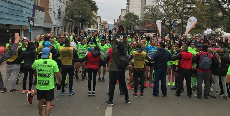 """El pampeano Alfredo Aguirre salió victorioso en la """"Maratón Independencia"""""""