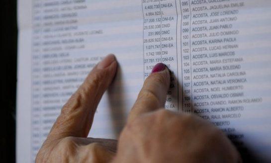 Hasta hoy podés reclamar datos erróneos en el Padrón Provisorio
