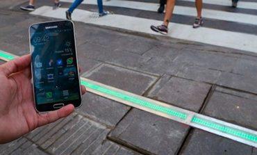 Semáforos en el piso, la nueva medida para los porteños