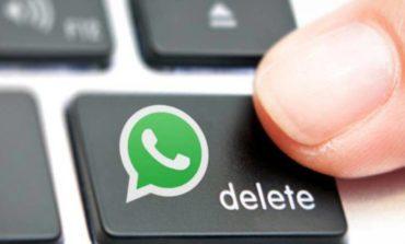 WhatsApp: Nueva función para eliminar mensajes enviados