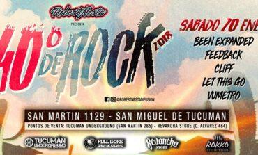 """Una nueva fecha del Festival """"40° de Rock"""""""