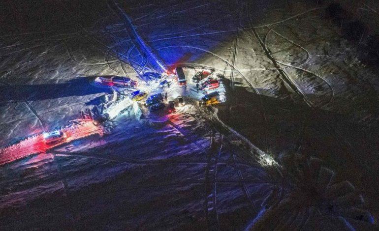 Dolorosas imágenes y testimonios de la caída del avión ruso