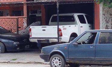 Encontraron la camioneta que habría utilizado el atacante de los policías