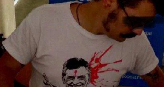 Denunciaron penalmente al joven que usó la remera de  Macri con un balazo en la frente