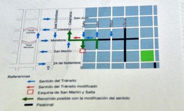 Tránsito | El martes cambia el sentido de calle Mendoza al 900