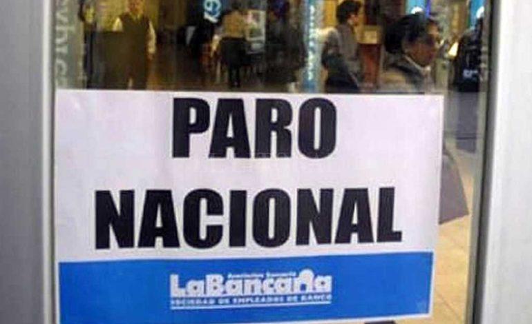Bancarios confirmaron el paro del viernes