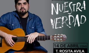 """Leo Garzón presenta su nuevo material discográfico """"Nuestra Verdad"""""""