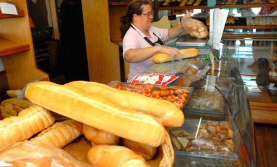El kilo de pan se va a $75