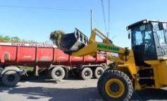 Continúan las labores de saneamiento en Manantial Sur