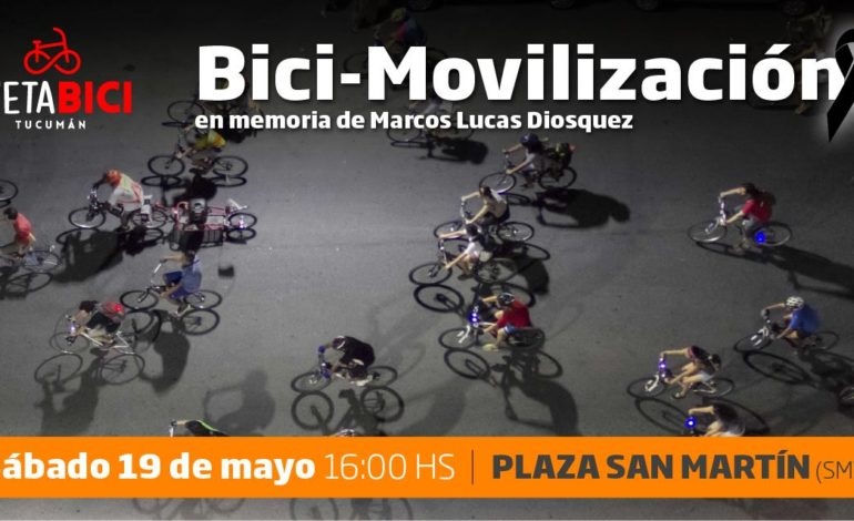 Ciclistas se organizan para pedir justicia por Marcos Diosquez