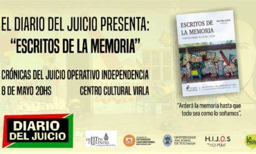 "Presentan un libro con testimonios de la Megacausa ""Operativo Independencia"""