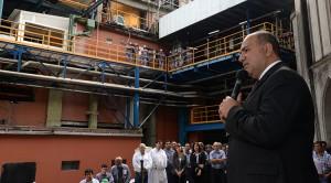 Manzur dio inicio a la zafra 2018 en el Ingenio Concepción