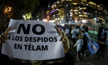 El Gobierno nacional despedirá a más de 350 empleados de Télam