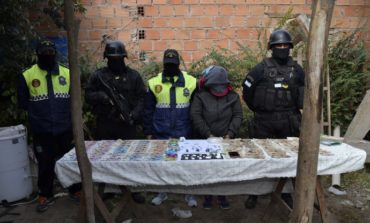 Detienen a una mujer que vendía droga en Tafí Viejo
