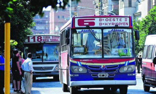 La Provincia niega que Nación envíe dinero para el transporte público