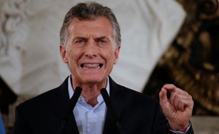 Macri prepara una despedida por cadena nacional