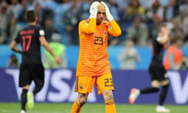 Después de su error ante Croacia, Caballero hizo un duro descargo