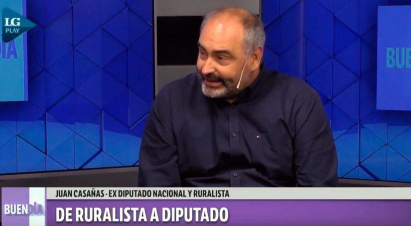 """Casañas: """"prefiero que la soja no sea rentable en el norte a que vuelva Cristina"""""""