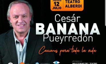 """César """"Banana"""" Puyerredón se presenta mañana"""