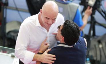 """Para Maradona, la eliminación de Colombia """"fue un robo"""""""
