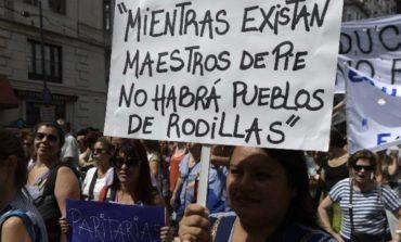 Los docentes protestarán en todo el país