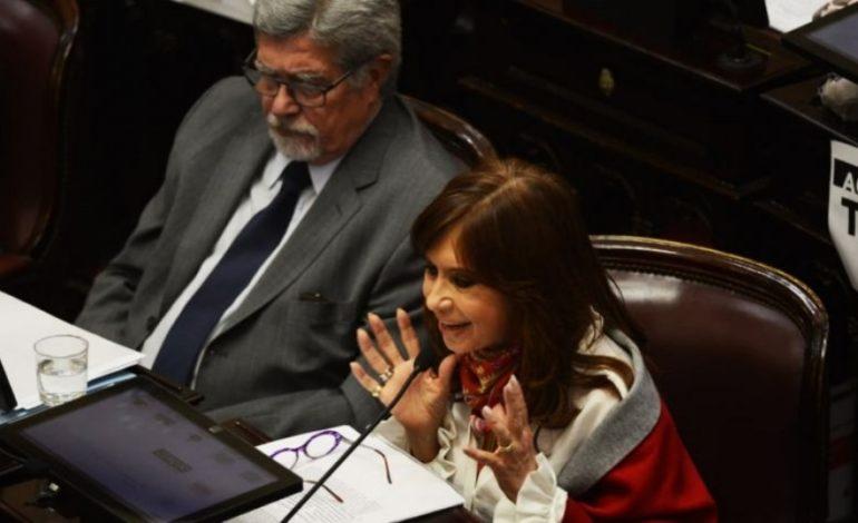 Versión taquigráfica de Cristina Kirchner en el Senado