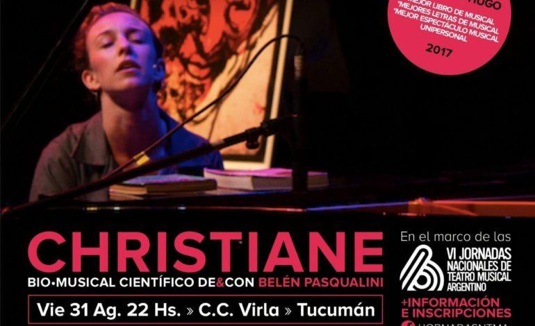 Teatro   «Christiane» una biografía musical sale a escena en el Virla
