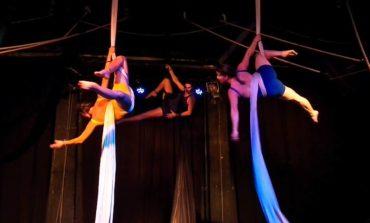 Taller de acrobacias aéreas para grandes y chicos