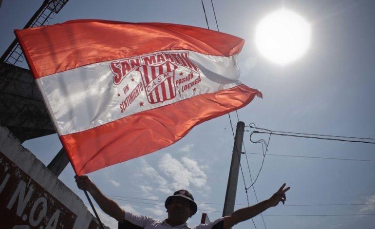 Por qué no hubo banderas en la cancha de San Martín