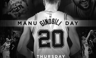 """San Antonio declarará el  """"Día de Manu Ginóbili"""""""