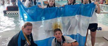 Argentina brilló en el campeonato mundial de natación para chicos con síndrome de down