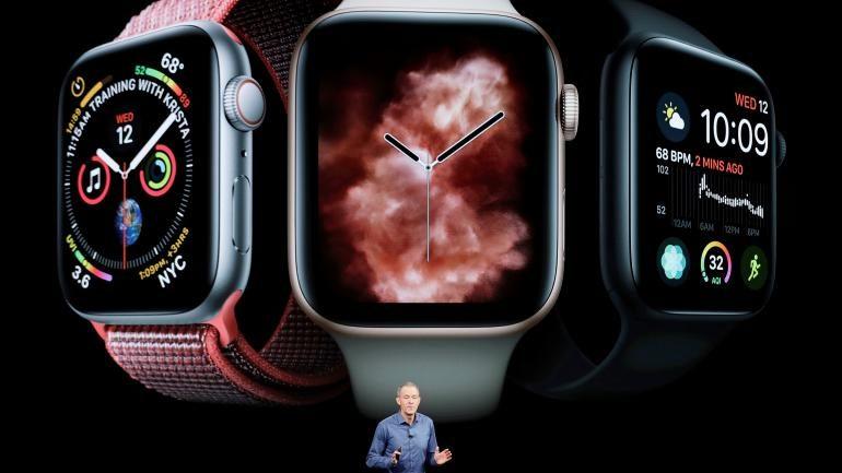 La serie 4 del Apple Watch realiza electrocardiogramas