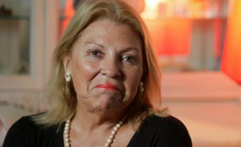 """Elisa Carrió: """"Voy a amigarme con el Presidente cuando me saque a Garavano"""""""