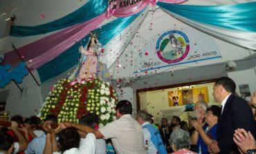 Monterizos celebraron el día de su patrona Nuestra Señora del Rosario
