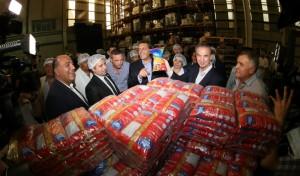 Manzur, Pichetto y Massa visitaron un complejo agroindustrial