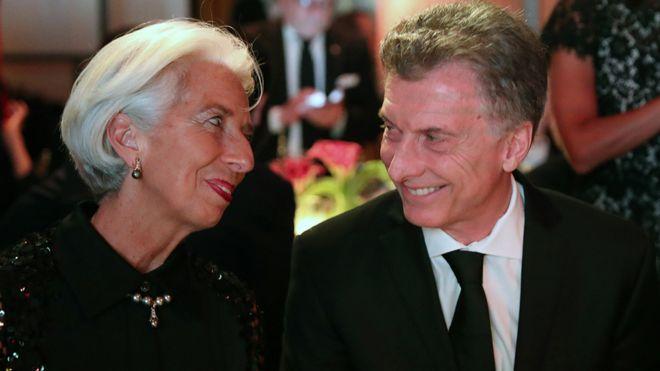 El FMI anticipa «otra tormenta» para el país